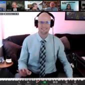 Zoom meeting screen shot